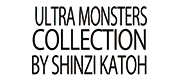 ULTRA MONSSTERS COLLECTION by SHINZI KATOH ロゴ