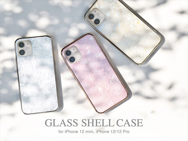 Glass Shell Case for iPhone12