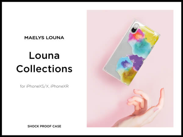 Louna Collections watercolor for iPhoneXS/X,iPhoneXR