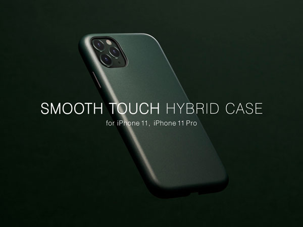 "【Apple最新端末iPhone 11 Pro/iPhone 11 対応】UNiCASEオリジナルiPhoneケース""Smooth Touch Hybrid Case""の販売開始!"