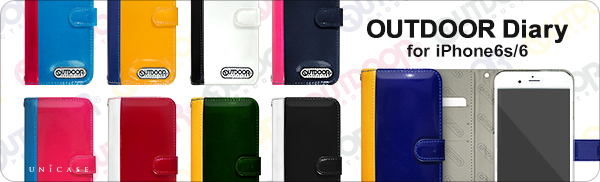 OUTDOOR Diary iPhone6s/6ケース