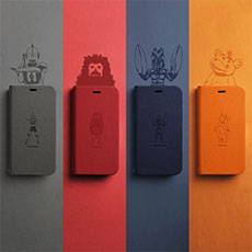 Ultra Kaiju Wallet Case for iPhone12/12Pro, iPhone12 mini