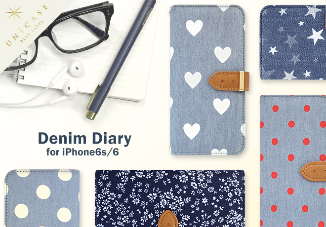 Denim Diary for iPhone6s/6 Image