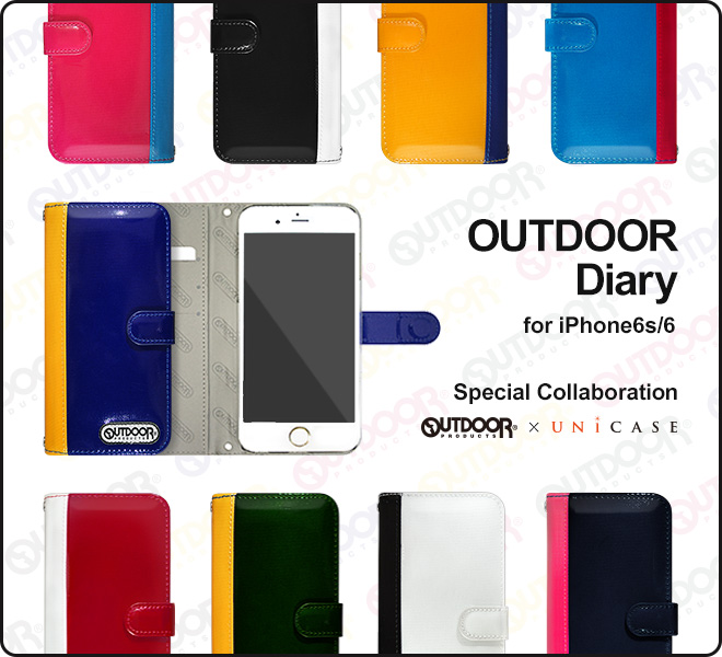 OUTDOOR PRODUCTS×UNiCASE コラボiPhone6s/6 ケース Image