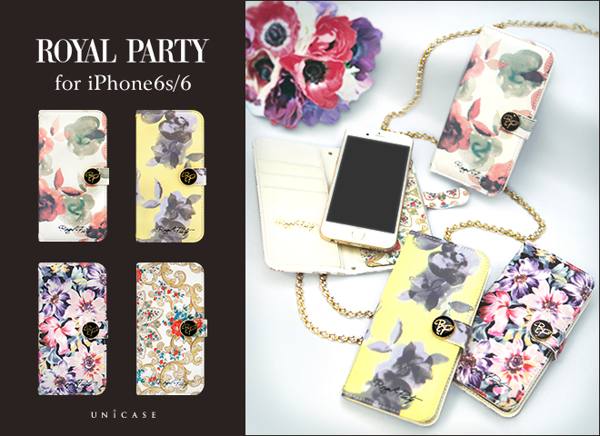 ROYAL PARTY×UNiCASE コラボiPhone6s/6 ケース Image