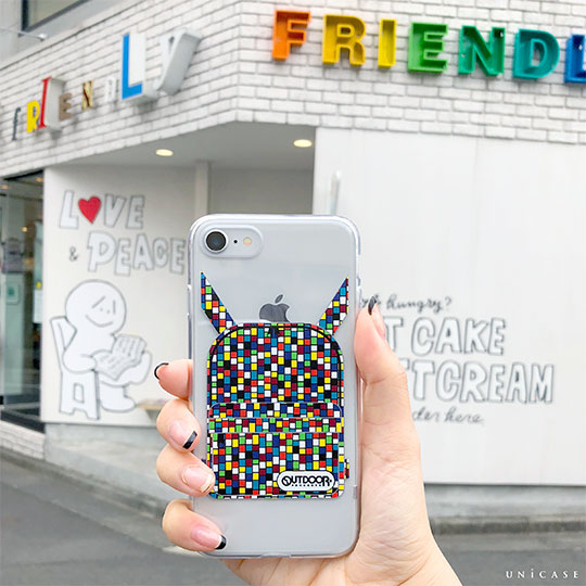 【iPhone8/7 ケース】OUTDOOR PRODUCTS CASE (MOSAIC)