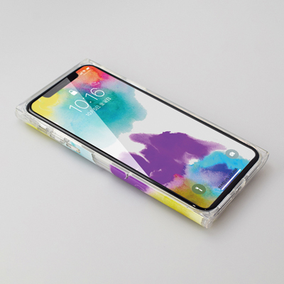 【iPhoneXS/X ケース】Louna Collections watercolor for iPhoneXS/X (vivid) 壁紙イメージ