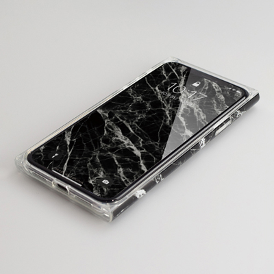 【iPhoneXS/X ケース】Maelys Collections Marble for iPhoneXS/X (Black) 壁紙イメージ
