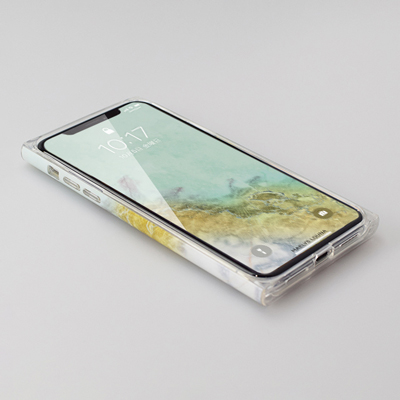 【iPhoneXS/X ケース】Maelys Collections Marble for iPhoneXS/X (Mint) 壁紙イメージ