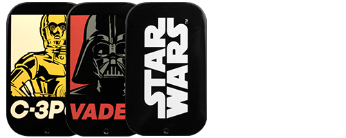 """STAR WARS / MATTE BLACK HARD CASE for iPhone7""1点購入につき『SPACE GRAPE TABLET (スペースグレープタブレット)』1個プレゼント中!"