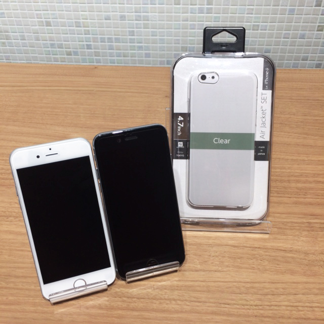iPhone6sとエアージャケットセット (クリア)