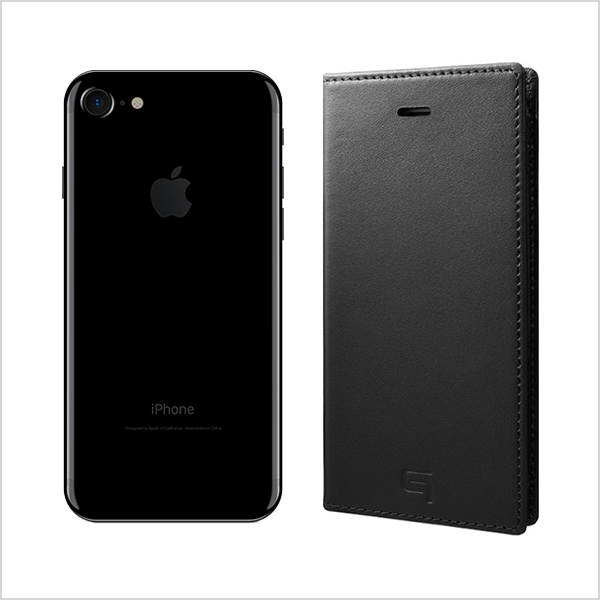 【iPhone7 ケース】Full Leather Case (Black)