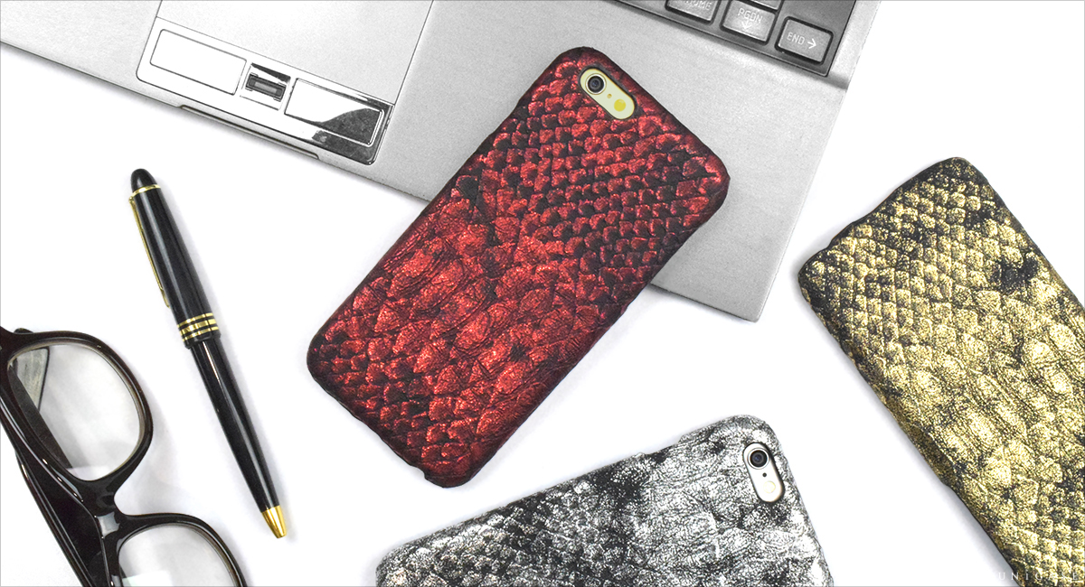 iPhone6s/6 ケース PYTHON PU LEATHER