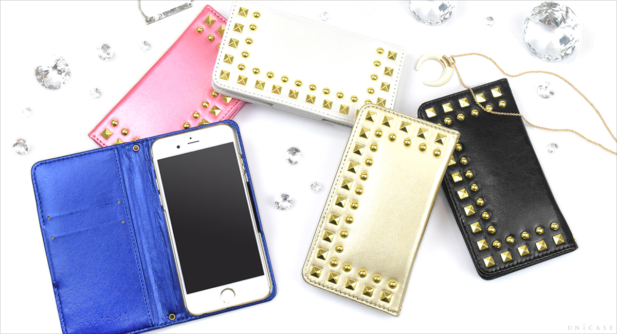 iPhone6s/6 ケース Studded Diary
