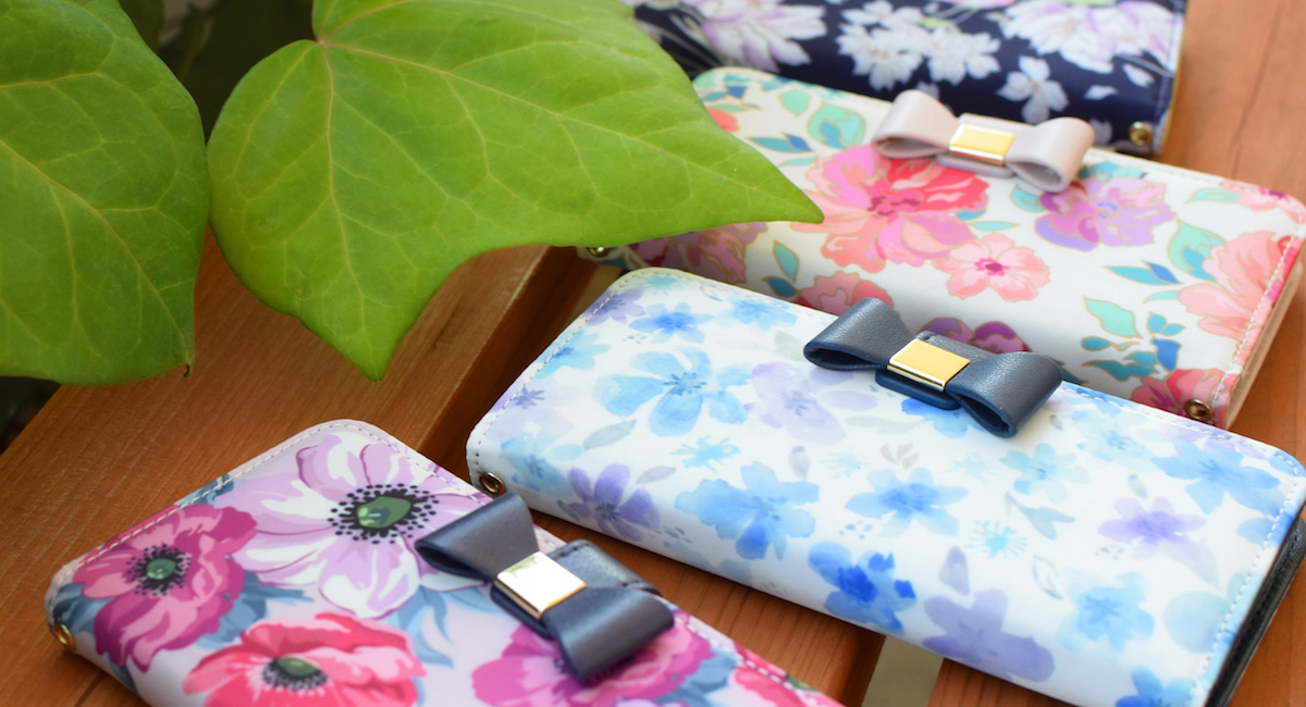 Flower Series wallet case