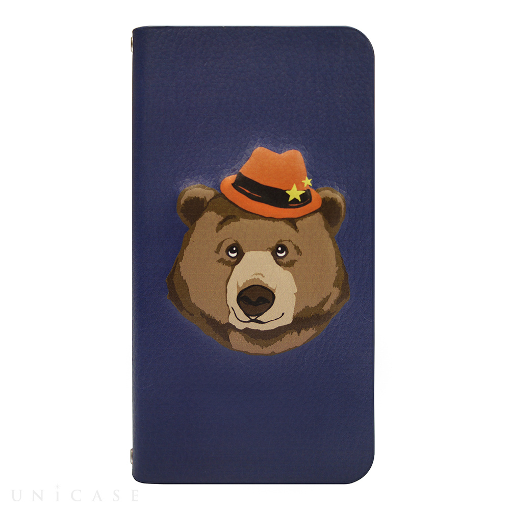 【iPhone6s/6 ケース】mag style Diary Bear for iPhone6s/6