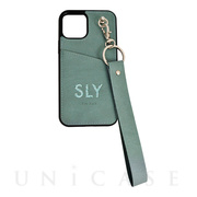 【iPhone12/12 Pro ケース】SLY Die cutting_Case (blue)