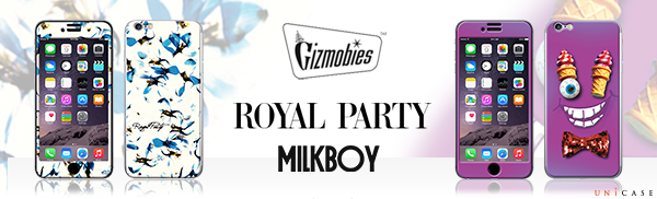 ROYAL PARTY・MILK BOYとコラボした限定のGizmobies