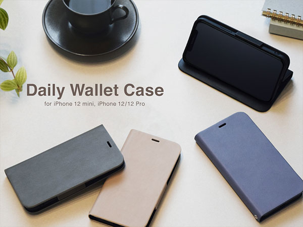 Daily Wallet Case for iPhone12/12Pro, iPhone12 mini