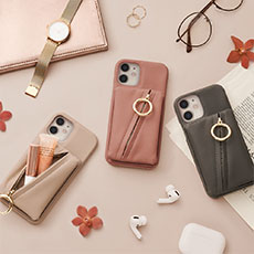 Clutch Ring Case for iPhone12/12Pro, iPhone12 mini